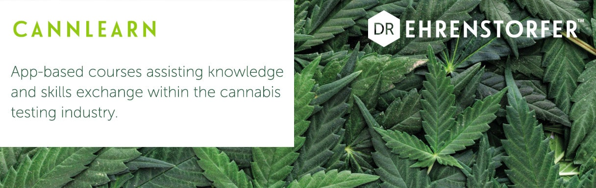 Dr. Ehrenstorfer in collaboration with the UK National Measurement Laboratory (hosted at LGC) has developed CannLearn – app-based microlearning courses to support knowledge and skills exchange for US cannabis testing laboratories.